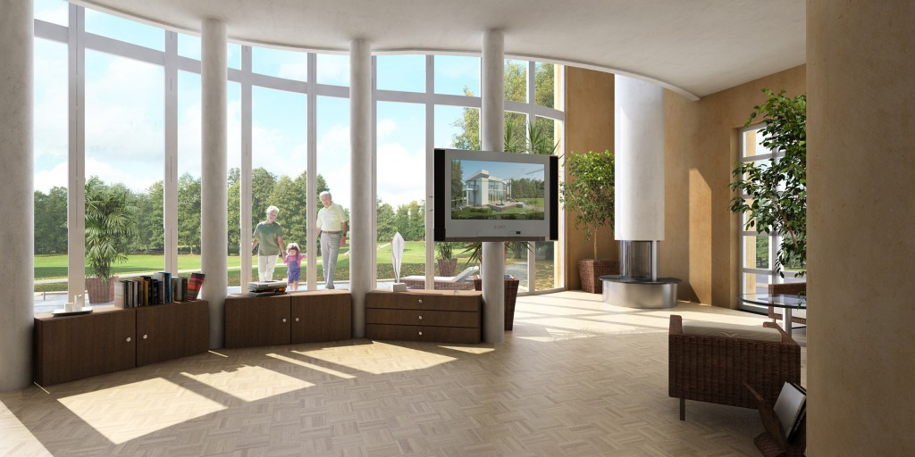Architekt, Visualisierung, 2D, 3D, Rendering